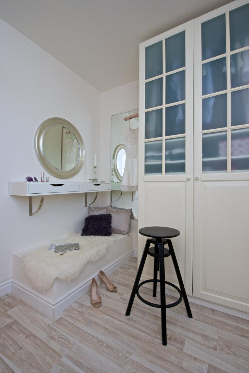 ložnice v elegantním stylu