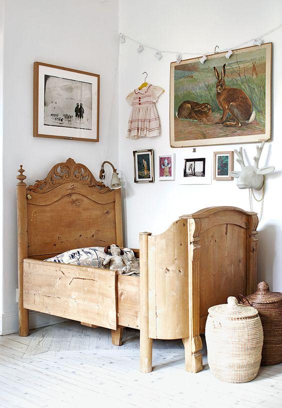 Dětský pokoj ve venkovské stylu