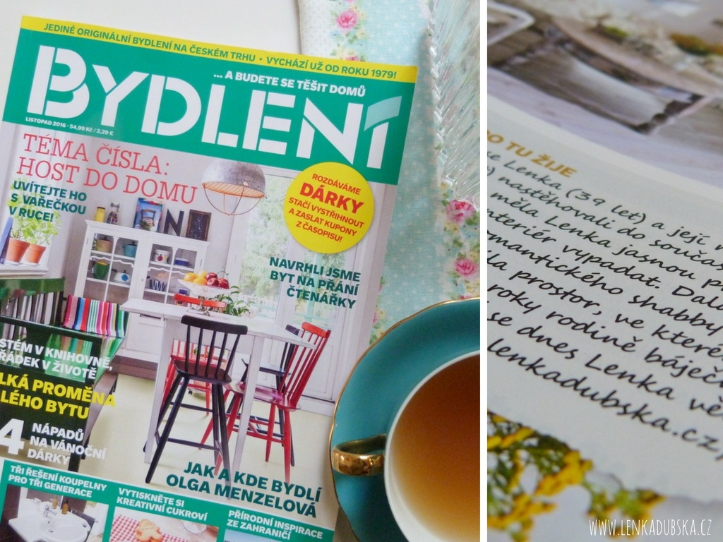 časopis Bydlení