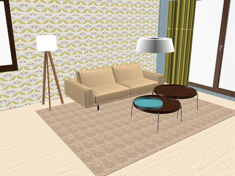 barevnost obývacího pokoje