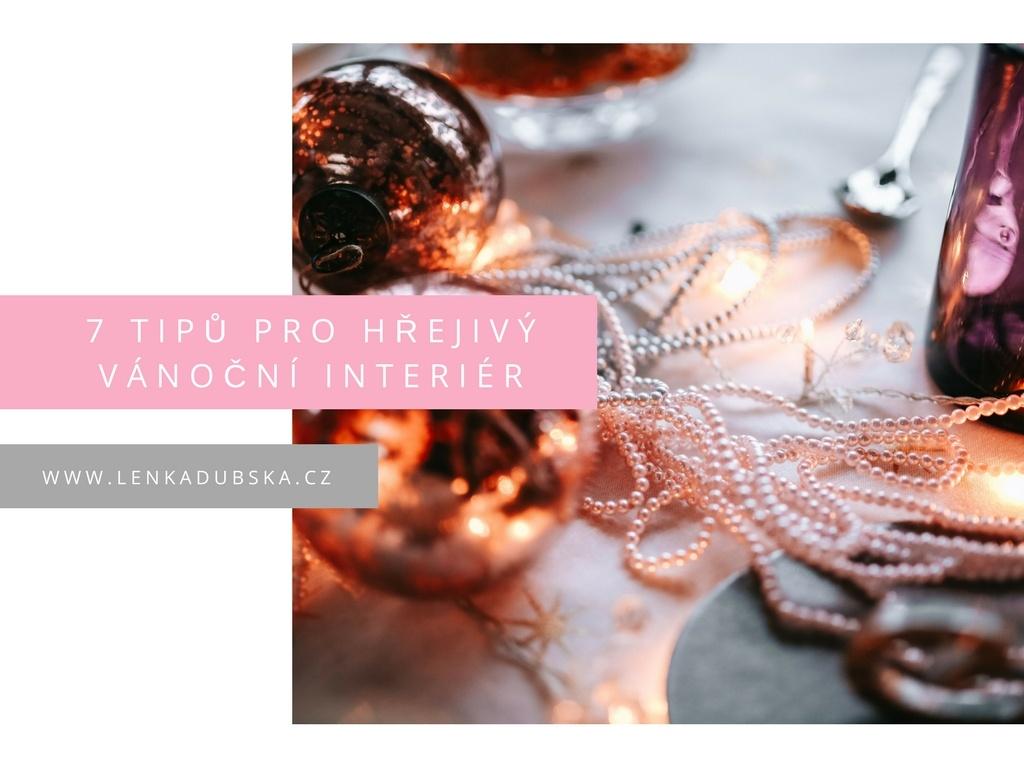 7 tipů pro hřejivý vánoční interiér