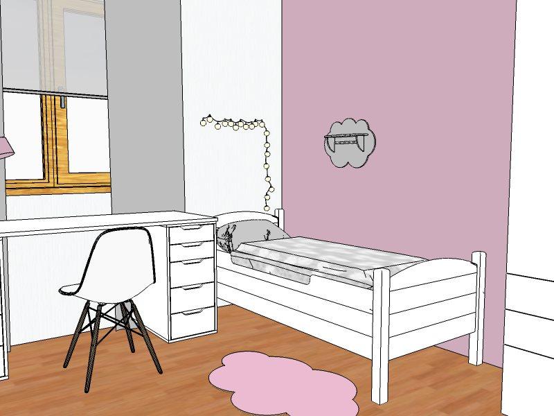 vizualizace dětský pokoj