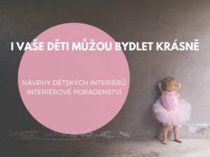 návrhy dětských interiérů a poradenství