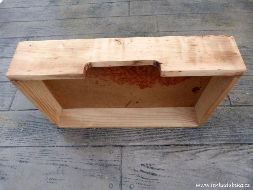 DIY starý šuplík