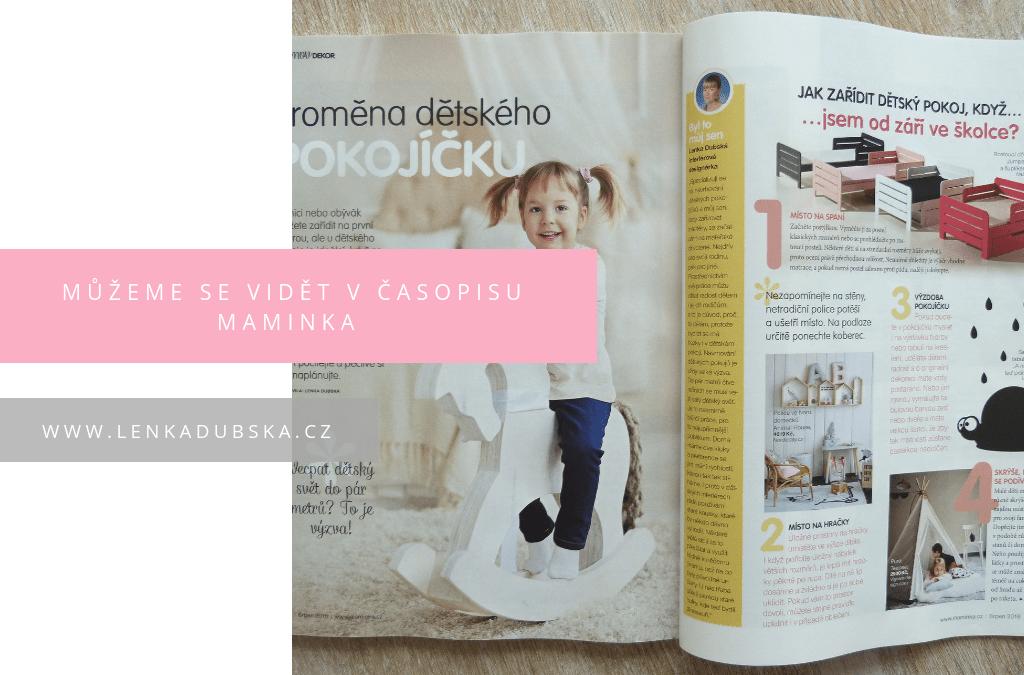 časopis maminka 1
