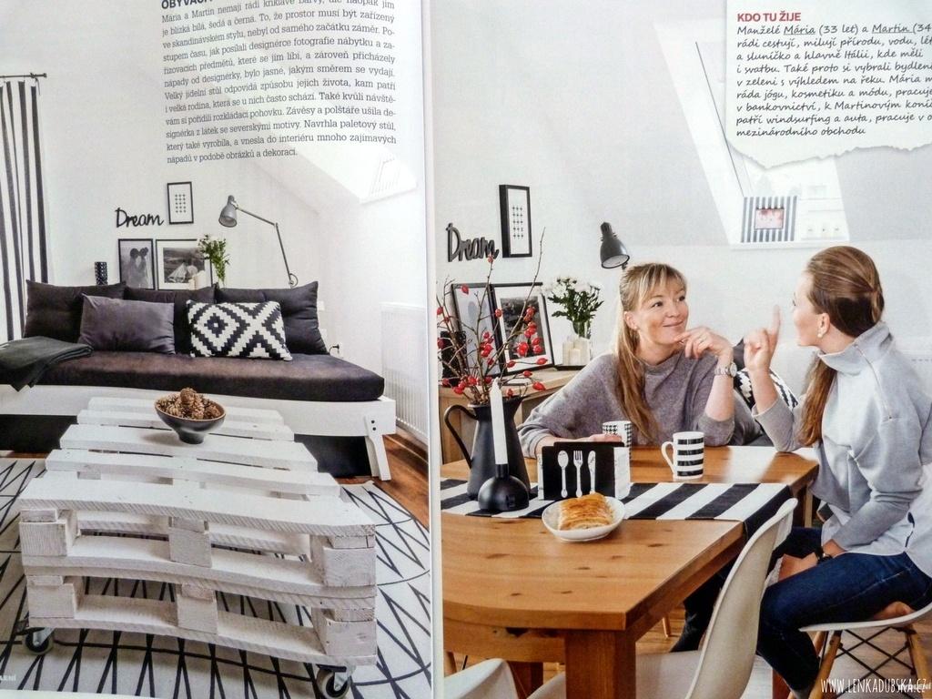 Interiér ve skandinávském stylu