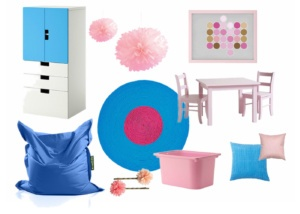 návrh dětského pokoje