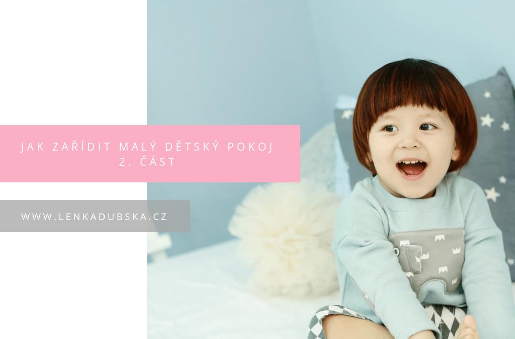 jak zařídit malý dětský pokoj 2