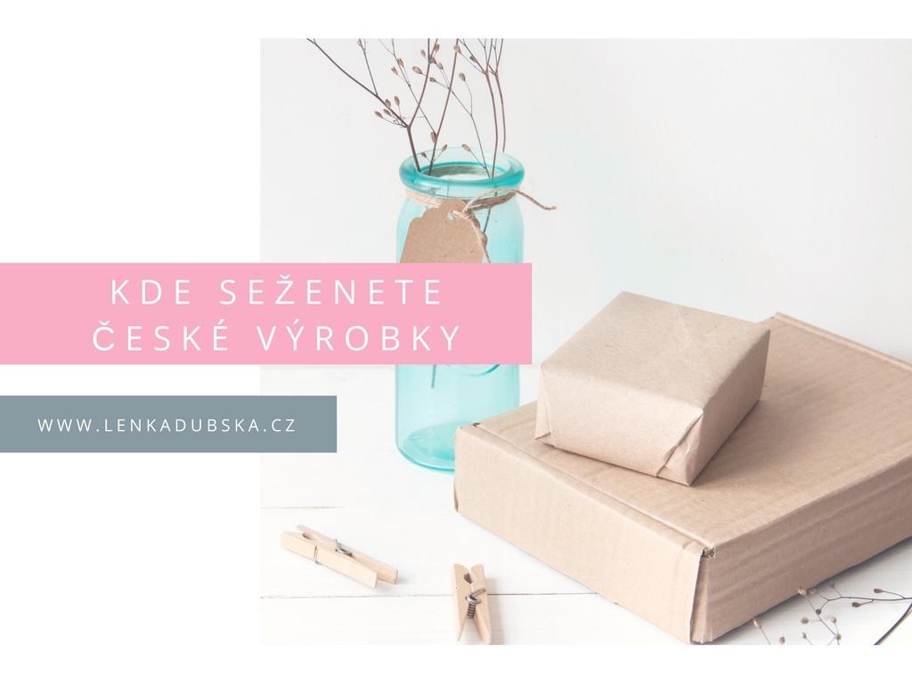 Kde seženete české výrobky