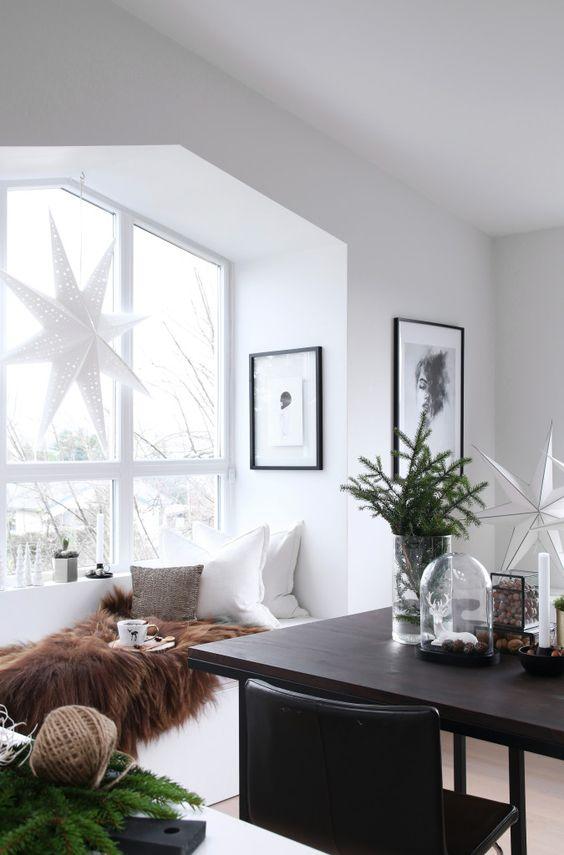 vánoční interiér