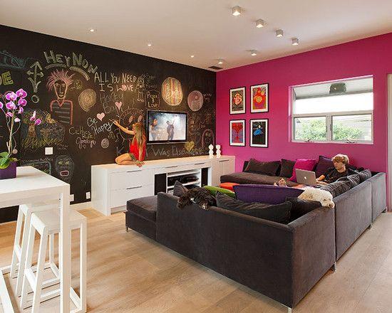 dětský pokoj v obýváku