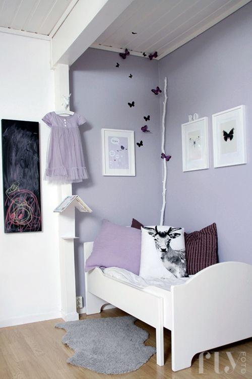 pastelové barvy v dětském pokoji