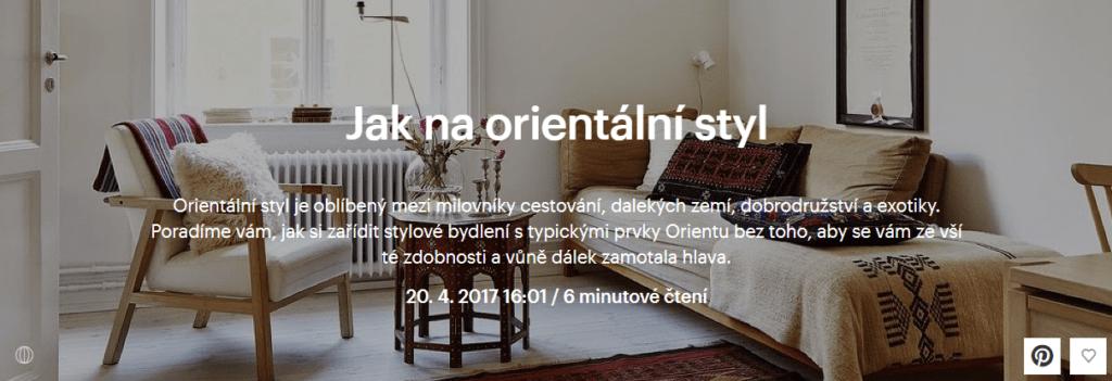 orientální styl