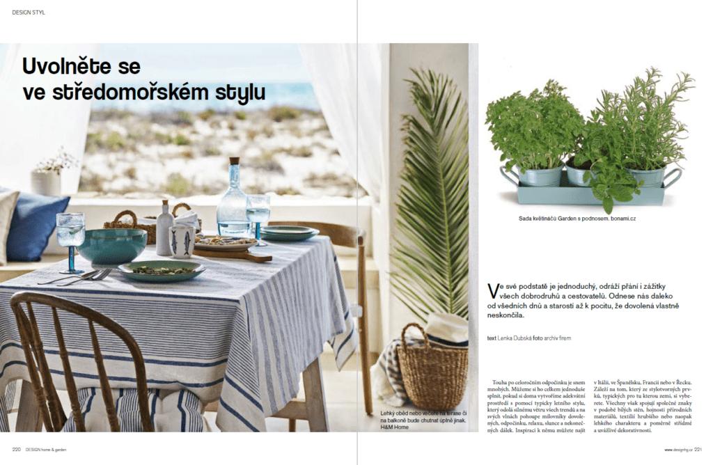 středomořský styl