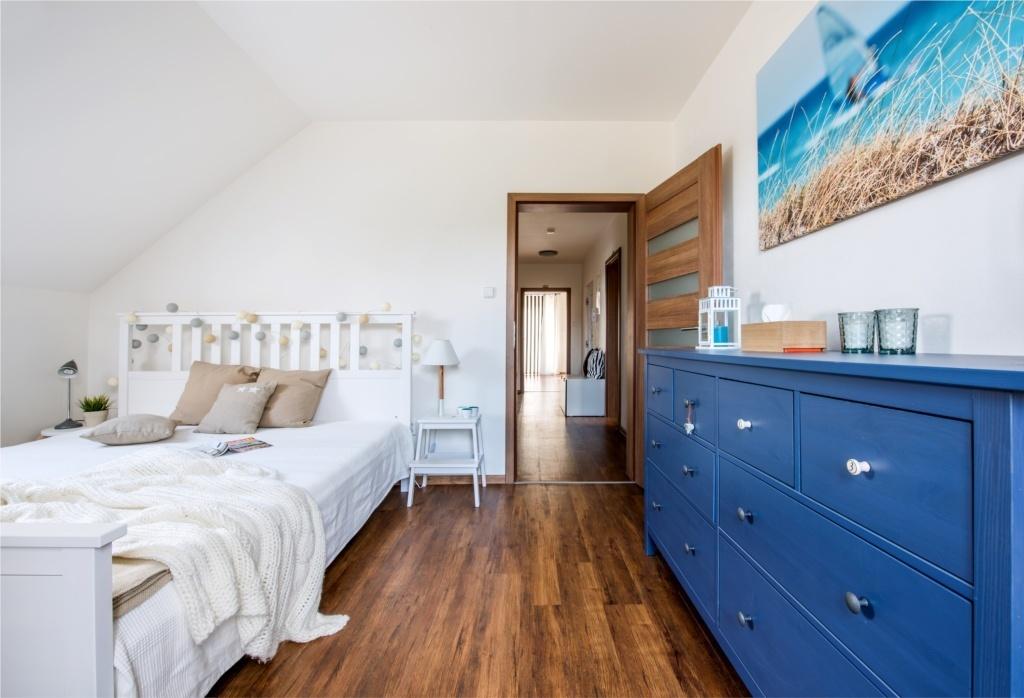 ložnice ve středomořském stylu