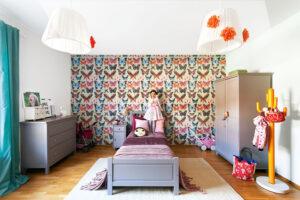 provizorní dětský pokoj