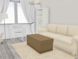 navrh pokoje pro hosty